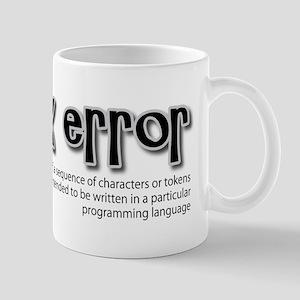 syntax error: programming Mugs