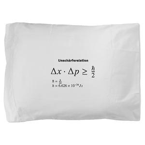 Uncertainty principle: Heisenberg: science Pillow
