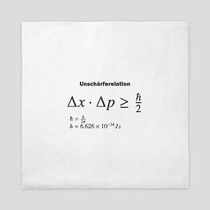 Uncertainty principle: Heisenberg: science Queen D