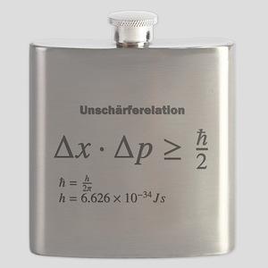 Uncertainty principle: Heisenberg: science Flask