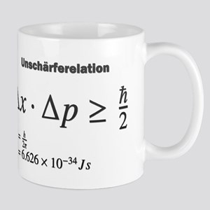 Uncertainty principle: Heisenberg: science Mugs