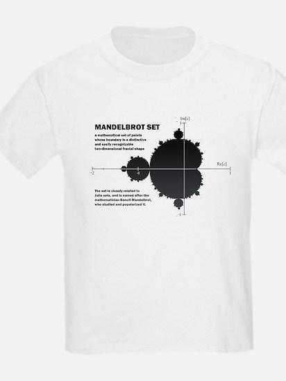 Mandelbrot set: fractal: science T-Shirt