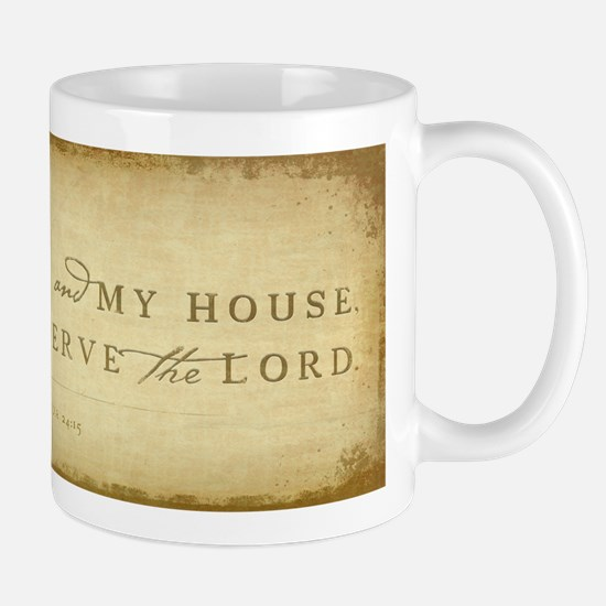 Unique As for me and my house Mug
