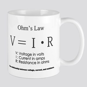 Ohm's law: science Mugs