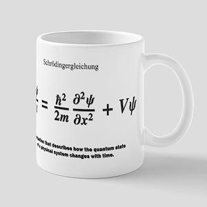 Schrodinger equation: science Mugs