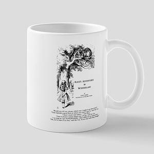 Cheshire Cat: Alice's Adventures in Wonderland Mug