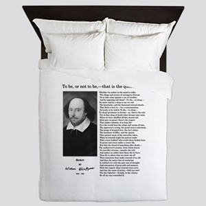Hamlet: William Shakespeare Queen Duvet
