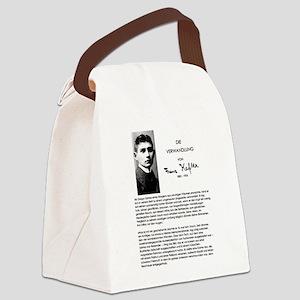 The Metamorphosis: Franz Kafka Canvas Lunch Bag