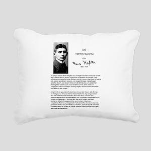 The Metamorphosis: Franz Kafka Rectangular Canvas