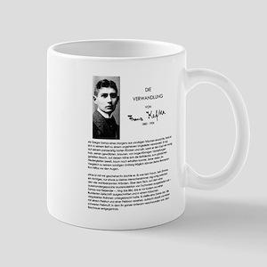 The Metamorphosis: Franz Kafka Mugs