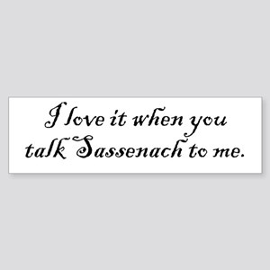 TalkSass2Me Sticker (Bumper)