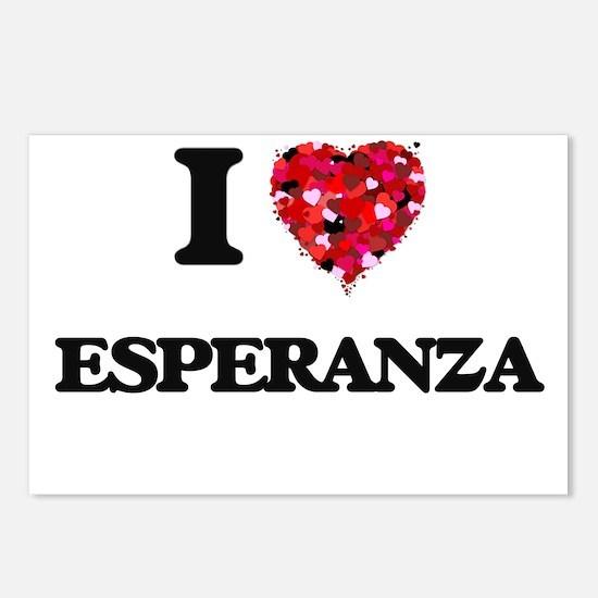 I Love Esperanza Postcards (Package of 8)