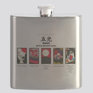 Hanafuda: playing cards of Japan Flask