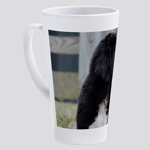 Landseer Newfie Puppy 17 oz Latte Mug