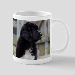Landseer Newfie Puppy Mugs
