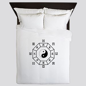 Bagua: eight trigrams used in Taoist cosmology Que