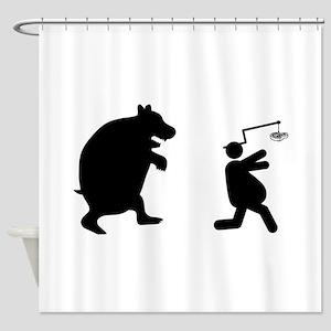 Steak Shower Curtain