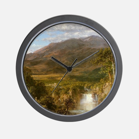 Heart of the Andes Wall Clock