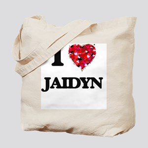 I Love Jaidyn Tote Bag