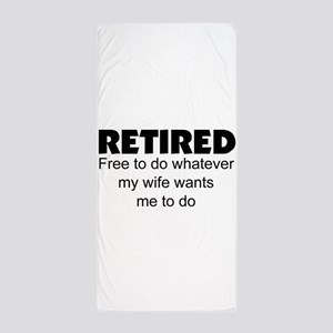 Retired Beach Towel