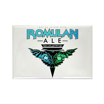 Romulan Ale Rectangle Magnet