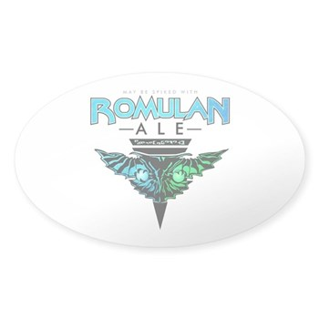 Romulan Ale Oval Sticker (50 pack)
