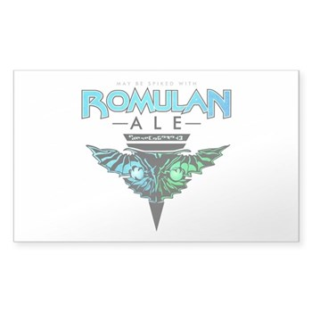 Romulan Ale Rectangle Sticker (10 pack)