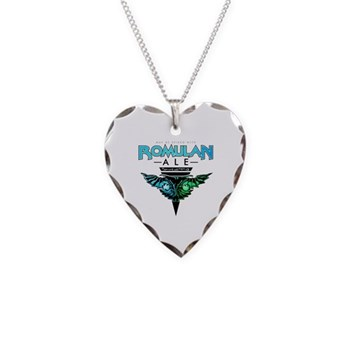 Romulan Ale Necklace Heart Charm