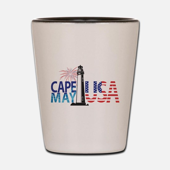 Cape May USA Shot Glass