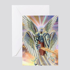cherub angel Greeting Cards