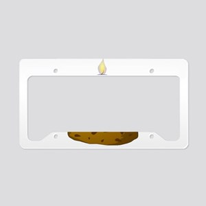 Cupcake Candle License Plate Holder