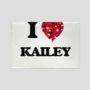I Love Kailey Magnets