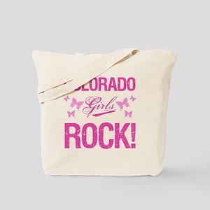 Colorado Girls Rock Tote Bag