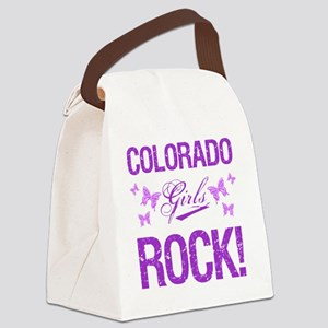 Colorado Girls Rock Canvas Lunch Bag