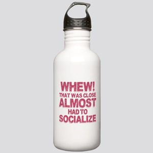 Introvert Social Anxie Stainless Water Bottle 1.0L