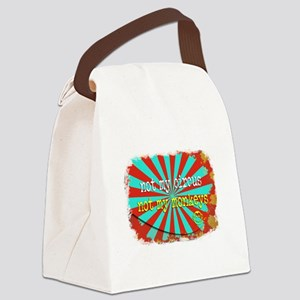 Not My Circus Not My Monkeys Shre Canvas Lunch Bag