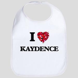 I Love Kaydence Bib