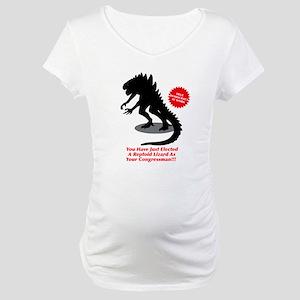 True Democracy At Work Maternity T-Shirt