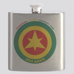 Ethiopian Military Aircraft Insignia 1946 Flask
