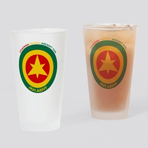 Ethiopian Military Aircraft Insigni Drinking Glass