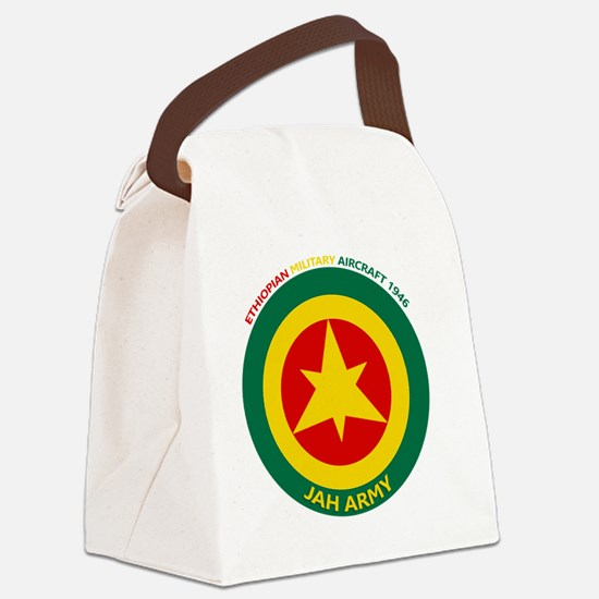 Ethiopian Military Aircraft Insig Canvas Lunch Bag