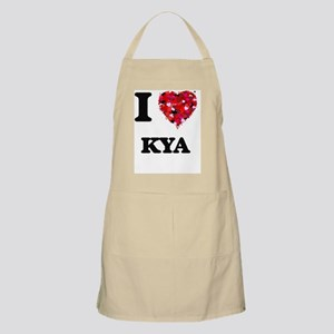 I Love Kya Apron
