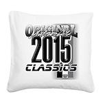 original 2015 Square Canvas Pillow