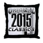 original 2015 Throw Pillow