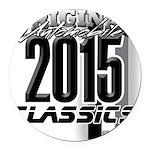 original 2015 Round Car Magnet