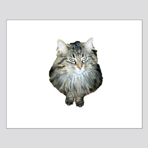 Elegant cat Small Poster