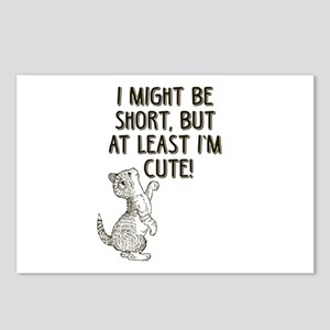 Short Girls Postcards (Package of 8)