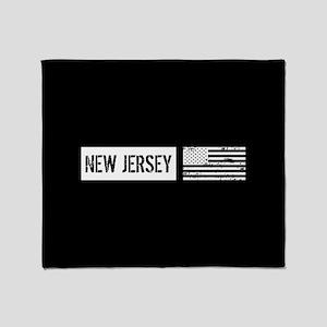 U.S. Flag: New Jersey Throw Blanket