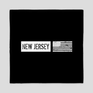 U.S. Flag: New Jersey Queen Duvet
