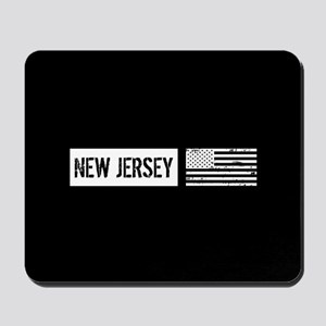U.S. Flag: New Jersey Mousepad